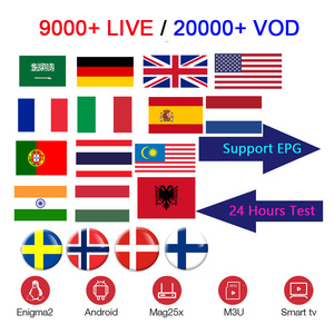 Nordic iptv account m3u iptv account list m3u French arabic germany poland iptv subscription With 9000+ channels