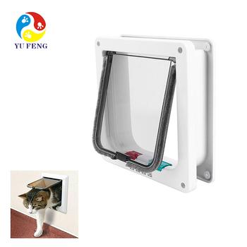 Cat Door In A Panel That Fits Into Your Sliding Glass Door The