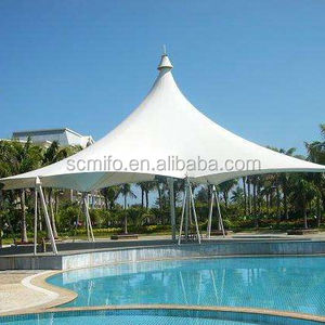 Most reasonable price PVC car parking shelter