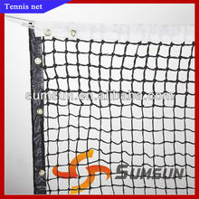 STN-120 nets for tennis court/tournament net/tennis equipment/3mm braided polyester