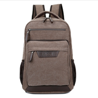 2017 wholesale custom china supplier OEM canvas laptop bags computer backpack laptop bags