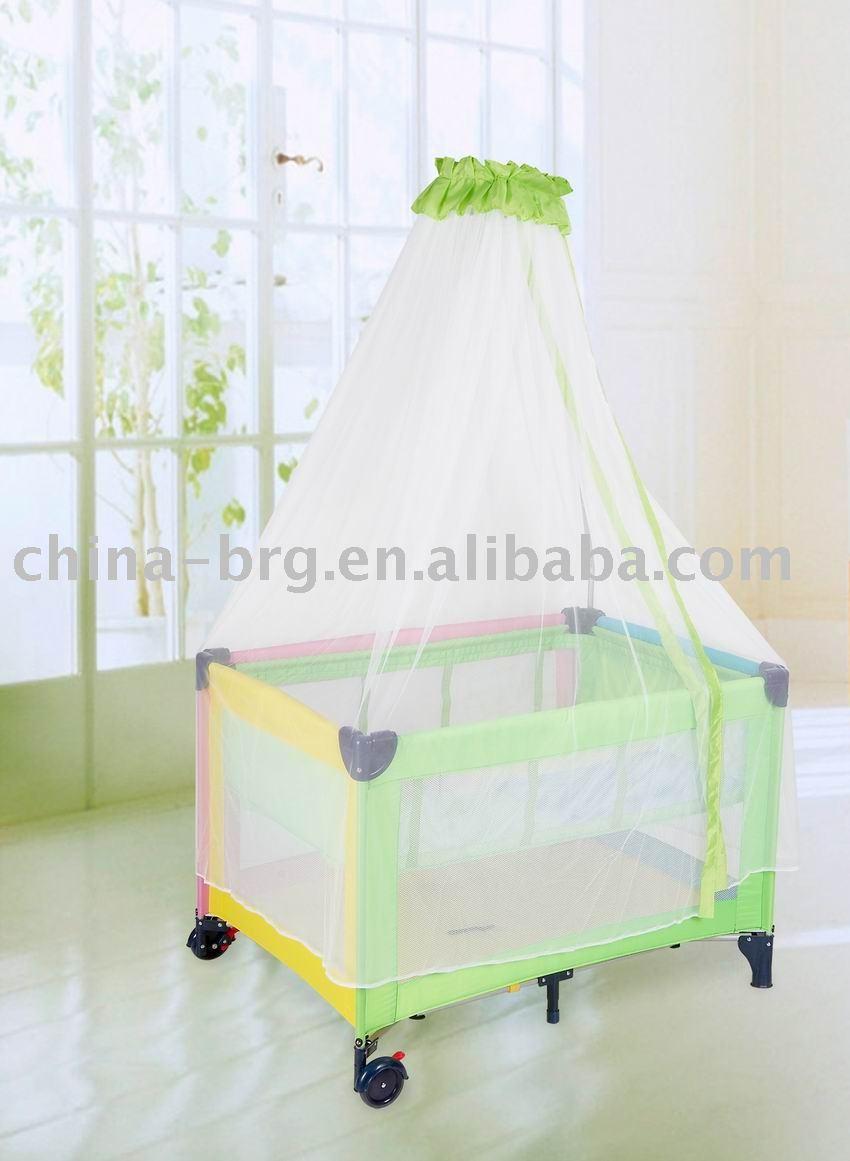 Portable Round Baby Crib Baby