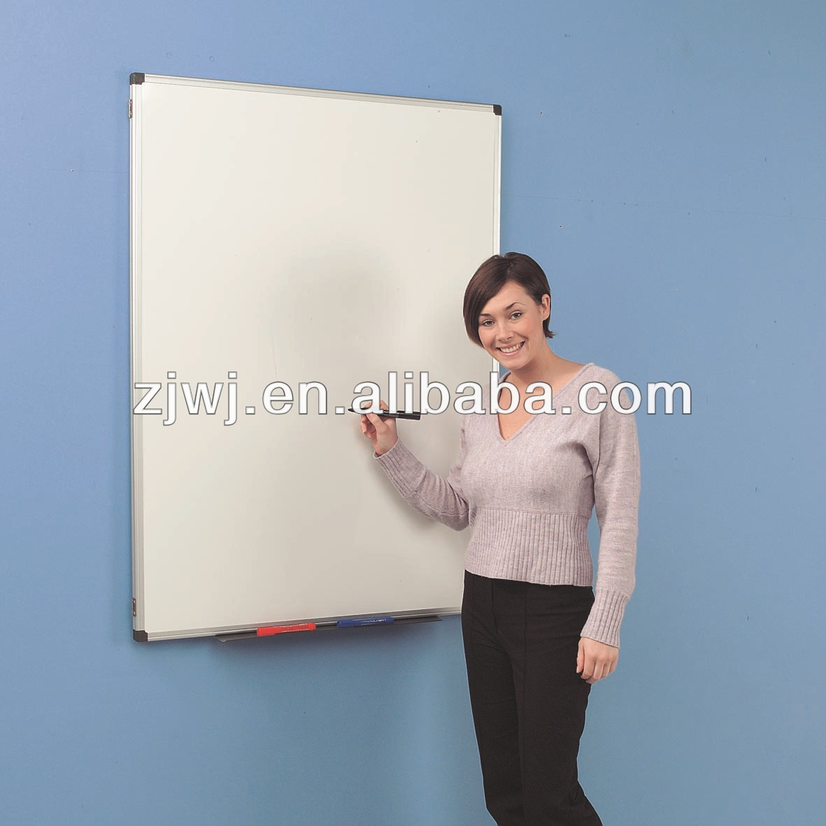 Cheap Writing Green Magnetic White Board For School
