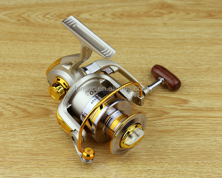 Factory Direct Supply Brass Pinion Fish Wheel With Excellent Quality Ball Bearing Spinning Metal Spool Fishing Wheel