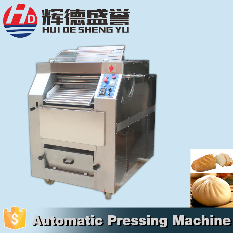 Dependable performance commercial dough roller press making machine