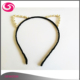 Wholesale Pearl Beads Rhinestones Jewelled Black Cat Ears Headband