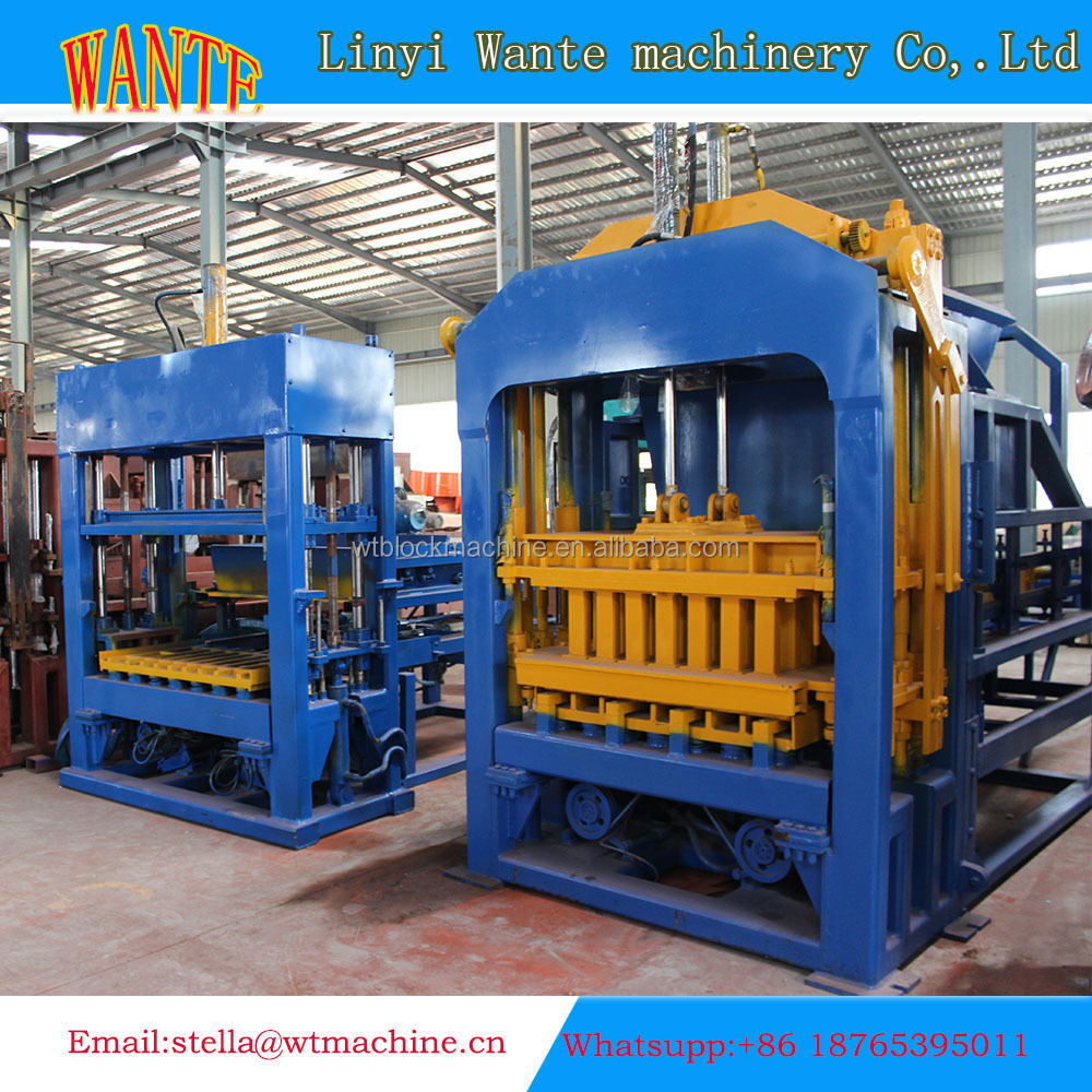Produit de haute qualité qt10 15 presse hydraulique carreaux de ciment béton dalle faisant la
