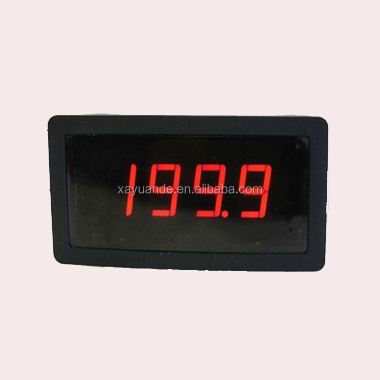 Digital panel ampere meter with high precision used for kinds of electronic power system