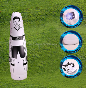 PVC inflatable training dummy for football and soccer, Air Body Inflatable Goalkeeper