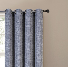 Fancy Jacquard Grommet Office Curtains And Blinds with Melon Lines Design
