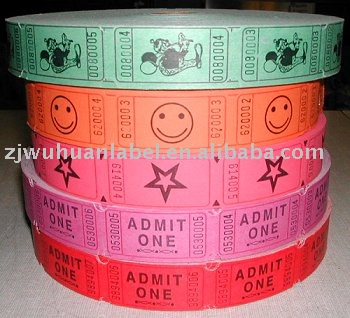 admission ticket roll buy admission tickets roll ticket printed