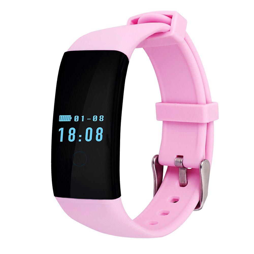 YSX Smart Sport Fashion Bluetooth Watch , Health Pedometer Sync Smart Watch. (Fashion, Pink)