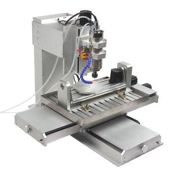 Diy Homemade 5 Axis Cnc Machine For Wood Plastic Acrylic Pvc