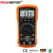 Peakmeter Best low price China auto range CE LCD display AC DC Digital Multimeter with frequency test