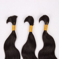 wholesale fashion indian remy all curl virgin human hair bulk hair extension