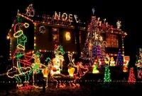 Ring Bell Shape Christmas Led String Light Rgb 5m 20bulbs Led ...