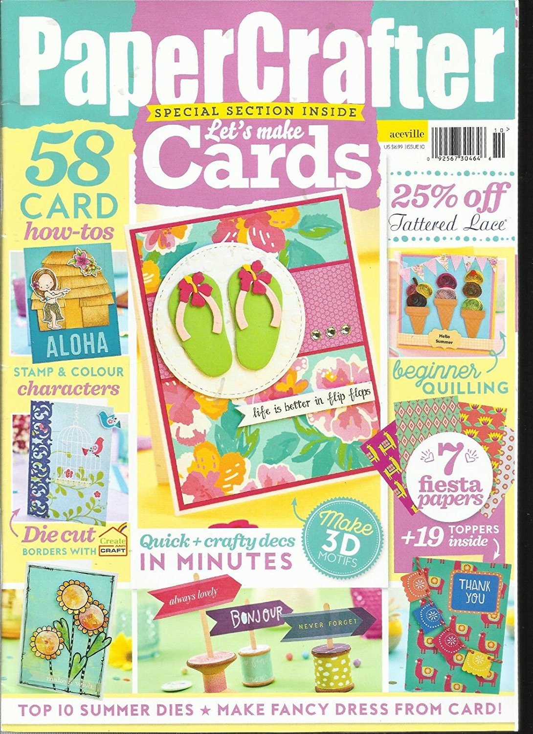 PAPER CRAFTER, ISSUE, 2017 ISSUE,110 FREE GIFTS OR CARD KIT ARE NOT INCLUDE.