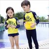 Express Woolen Kids Wear Fabric Child Float Suit For Disposable Clothes