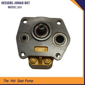 High Performance Hydraulic Bulldozer Parts gear oil pump