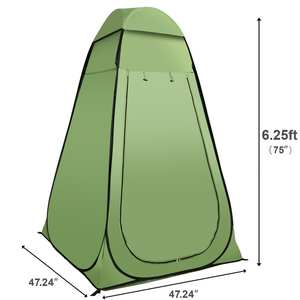 Toilet Shower Tent Portable Pop Up Outdoor Camping Toilet Tent Changing Room