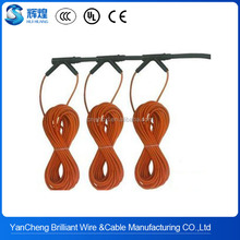 New infrared heating floor heating cable system of silicone rubber carbon fiber wire
