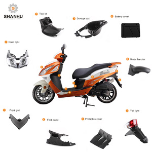 China factory wholesale custom falcon names of scooter motorcycle spare decoration parts accessary