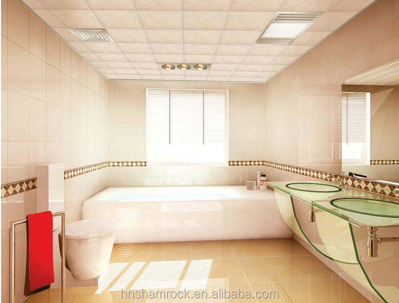 8inche 8 Bathroom Pvc Suspended Ceiling Tiles View