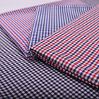 Newest design cheap clothing material wholesale 100% cotton textile fabric for shirt