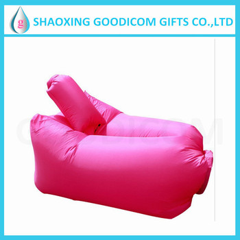 Inflatable Banana Seat Chair Inflatable Water Floating Bed
