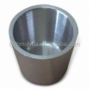 High temperature container forging tungsten crucible