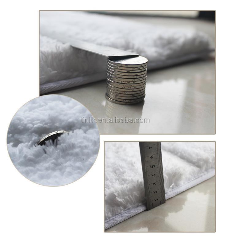 European Style Multi-purpose Indoor Small Floor Mat Microfiber Bibulous Bathroom Anti-skid Carpet