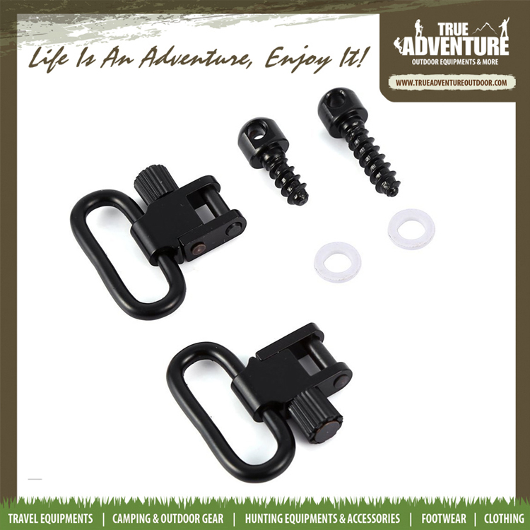 wholesale gun accessories 1 inch Mount Tactical Sling Swivel