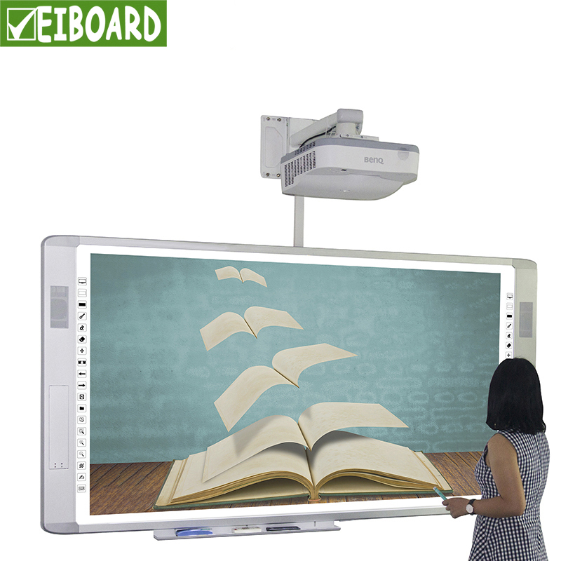 Multimedia All-in-one optical interactive smart boards in the classroom