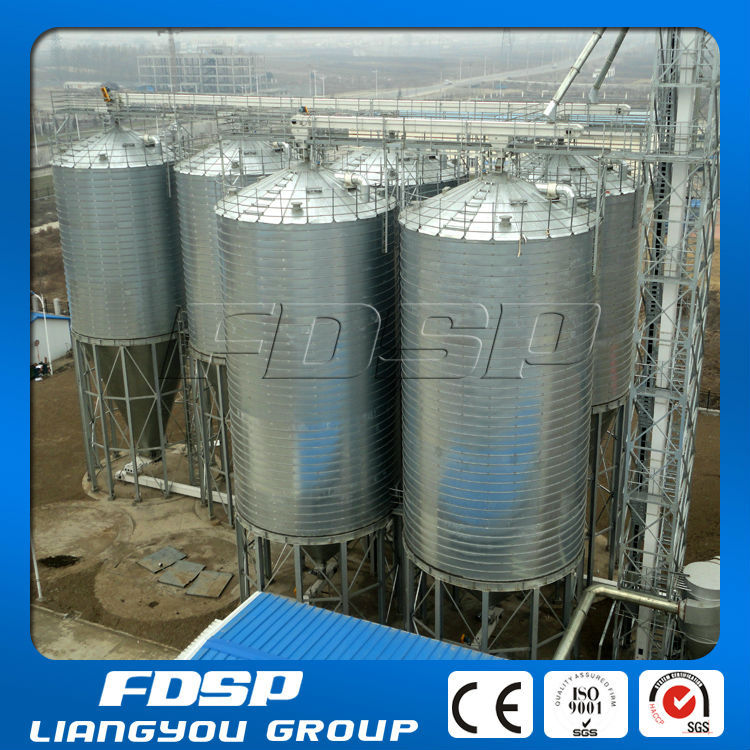 Rice Paddy Silo With Large Capacity Up To 20000ton For Grain ...