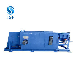 Automatic sorting line for scrap steel for separating copper, aluminum, stainless steel and iron