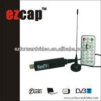 USB2.0 DVB-T usb tv tuner card laptop TV dongle eztv869