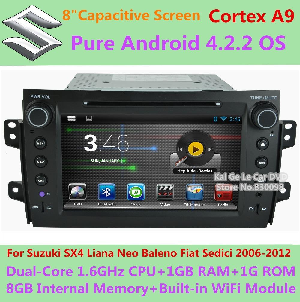 Neo Baleno: Capacitive Pure Android 4.2.2 Suzuki SX4 Liana Neo Baleno