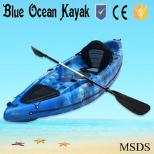 Blue Ocean kayak/1 Canoisti (<span class=keywords><strong>Max</strong></span>) e 2.1-3 m Lunghezza (m) kayak da pesca/cina Ha Fatto Sit On Top LLDPE Kayak