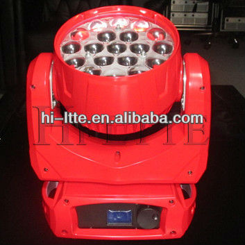 zoom led wash lighting red movinghead stage light