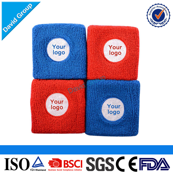Alibaba Top Supplier Promotional Wholesale Custom Cheap Sweatbands Red White And Blue