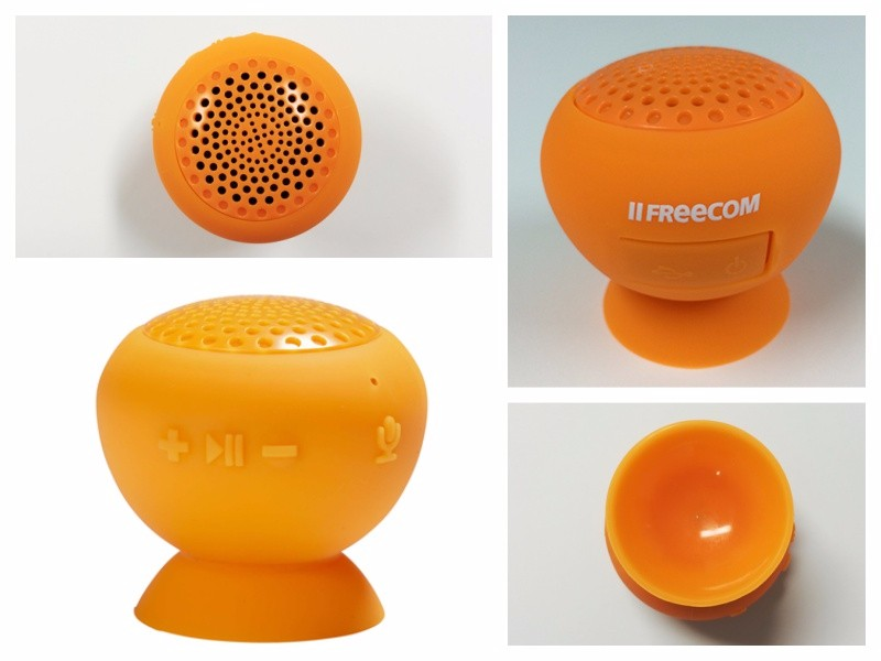 Good quality mini Bluetooth sport silicone speaker