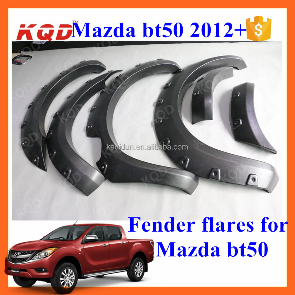 universal wheel arch fender flares parts for mazda bt 50
