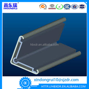 aluminium round corner trim/channel/joiners/profile/extrusion/guards/joints for sale