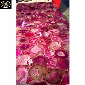 Latest Technology wholesale natural red agate backlit slabs