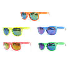 Fashionable Neon Color Retro Sunglasses