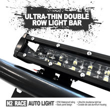 N2 Wholesale high intensity pick up truck light bars curved 50inch 288 W SLIM double row IP68 waterproof