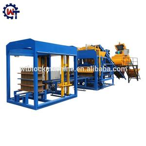 QT4-15 China manufacturer fly ash solid brick making machine