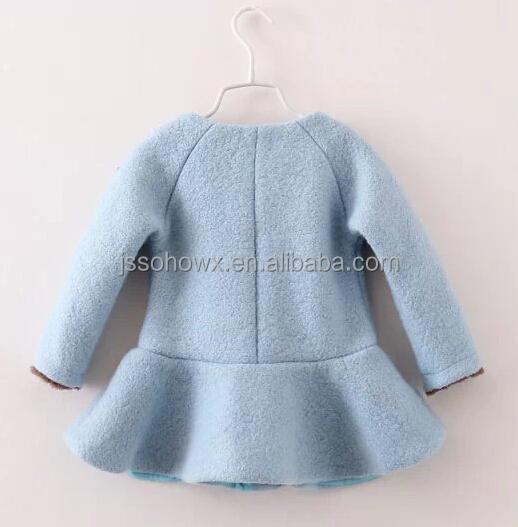2014 Fall Baby Girl Wool Blend Coat,Girls Wool Dress Coats - Buy ...