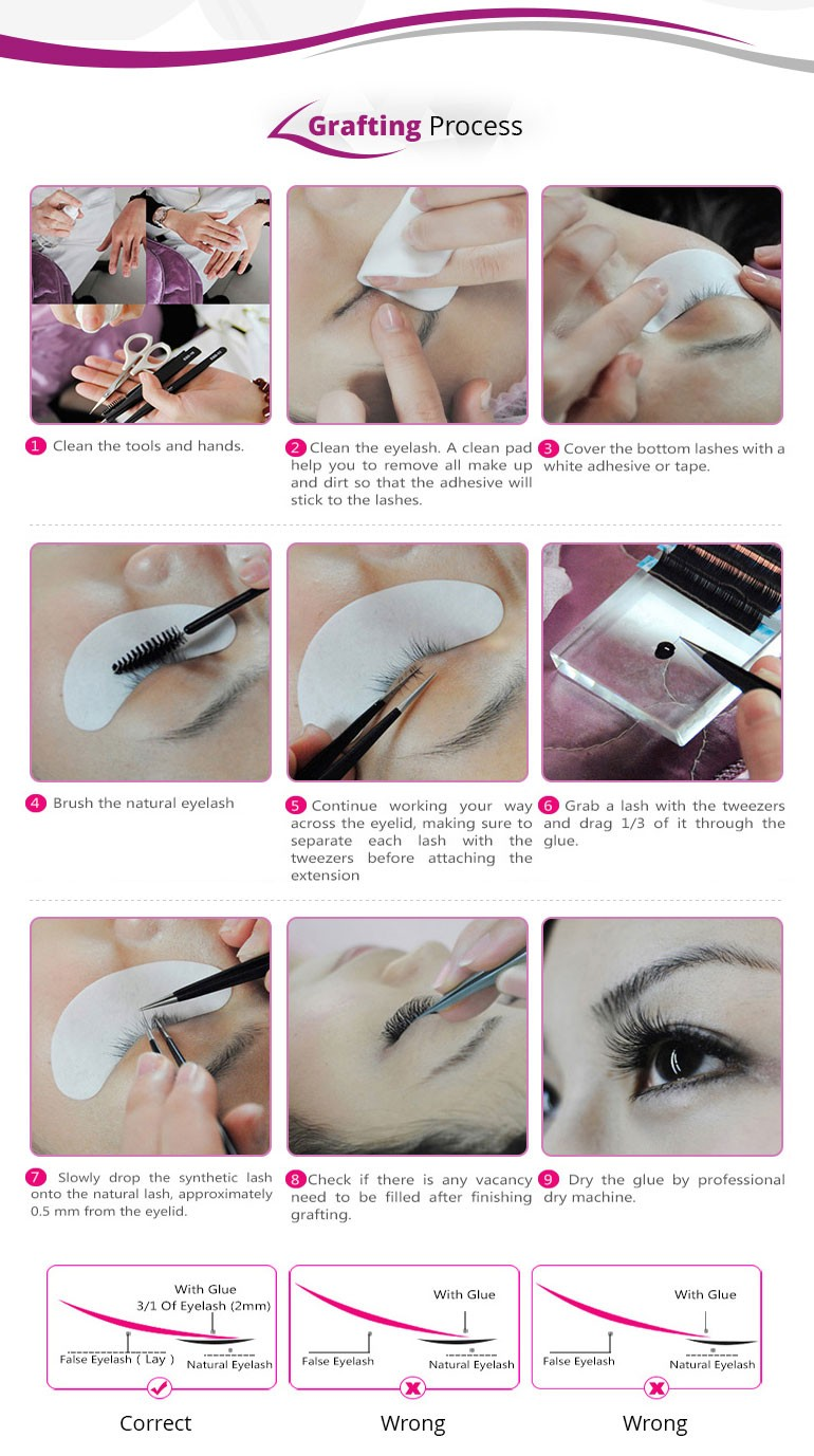 Big Brand Choose This Accept Oem Lash Eyelash Extension Private ...