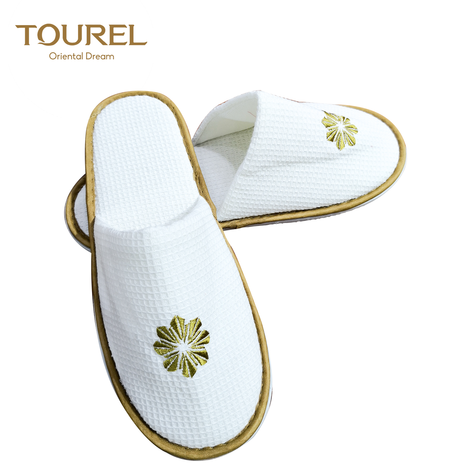 Hotel Wedding Slippers Disposable Bathroom Slippers